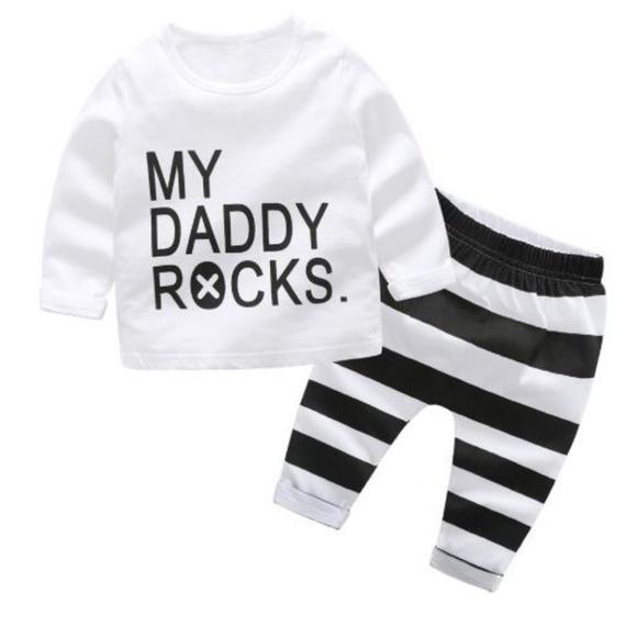 Buy Cheap Gymboree Baby Boys Black And White Stripe Pants Nwt Size 6-12 M Bottoms